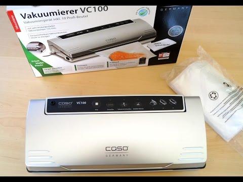 Vakuumierer CASO VC 100 - Das lustige Unboxing