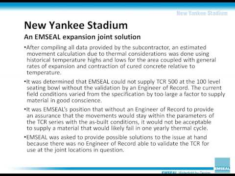 EMSEAL at Yankees Stadium: Adapting to Field Conditions