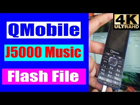 QMobile J5000 Music BIN Flash File Free Download | Miracle Crack v2.82