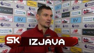 Dejan Lovren Nakon Pobede nad Mančester Junajtedom 3:1   SPORT KLUB Fudbal