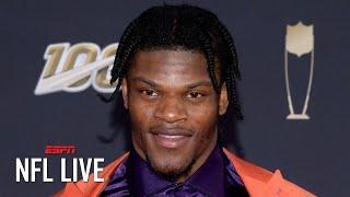 Lamar Jackson wins NFL MVP by unanimous vote | NFL Live