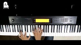 แผลในใจ - GTK feat. KT Long Flowing【Piano Cover】
