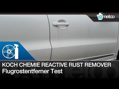 Koch Chemie RRR Reactive Rust Remover vs. Dr. Wack Flugrostentferner | Flugrostentferner Test