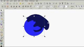 Inkscape Tutorial: Vector Rubber Stamp Logo (Episode #73