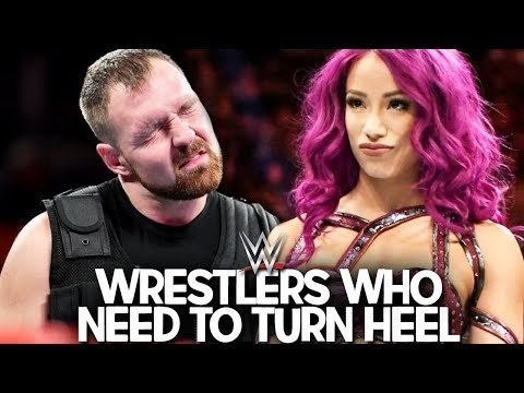 5 WWE Wrestlers Who Need To Turn Heel in 2018!