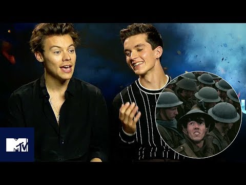Harry Styles & DUNKIRK Cast Reveal Favourite Memories BEHIND THE SCENES   MTV Movies