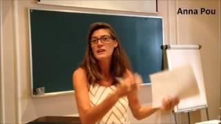 Anna Pou ens comenta la seva part del curs. Grècia i Roma