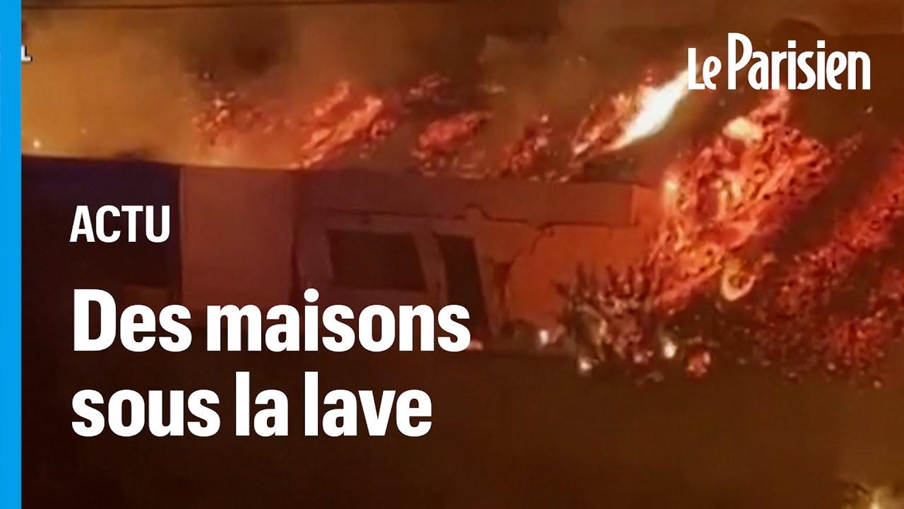 Eruption aux Canaries : une maison engloutie par la lave, 5000 personnes évacuées