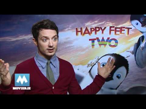 Elijah Wood talks THE HOBBIT & HAPPY FEET 2