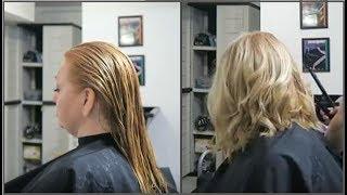 Angled Bob Haircut Tutorial