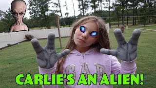 Somethings Wrong With Carlie! Aliens Are Controlling Her! Alien Takeover!