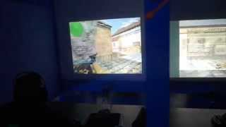 3D Relax Cube LAN IV Counter-Strike 1.6 Still Alive review :)