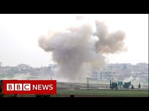 Syria war: Alarm aft