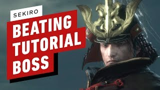 Sekiro: Shadows Die Twice: Beating the Tutorial Boss You're Supposed to Die To
