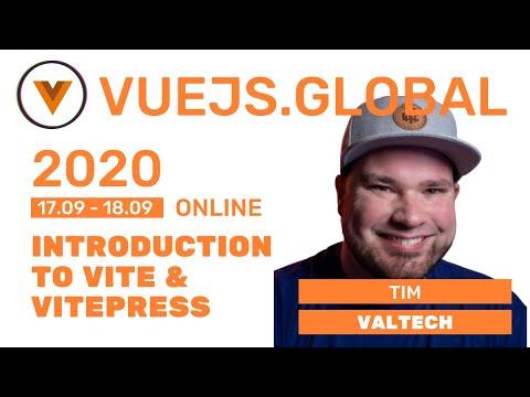 Image thumbnail for talk Introduction to Vite & Vitepress