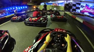 preview picture of video '2014 10 26   KARTING INDOOR SANT FELIU DE LLOBREGAT CAMARA JORDI'