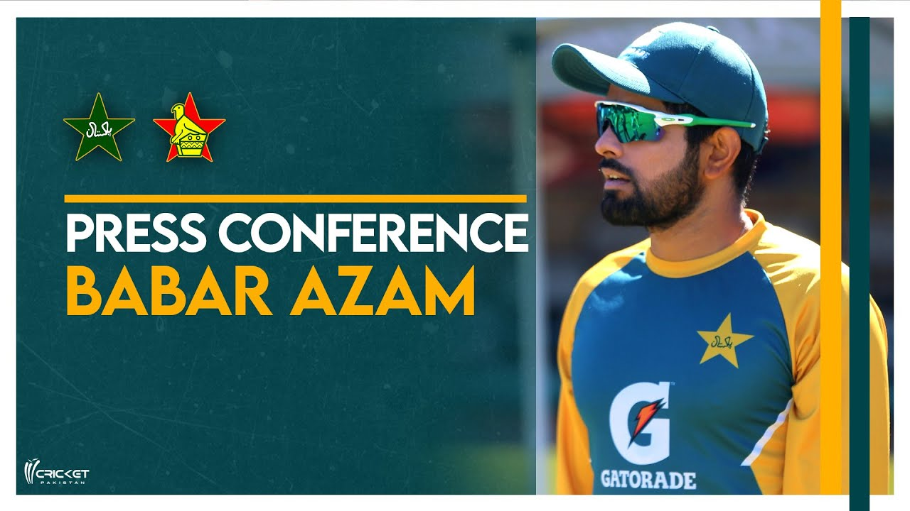 babar azam announces 13 man squad for second zimbabwe test