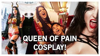 KittyPlaysGames Queen of Pain Cosplay (The International 5)