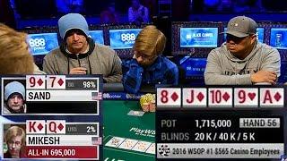НЕВЕРОЯТНЫЙ ФЛОП: Стритфлеш vs Флеш! Покер