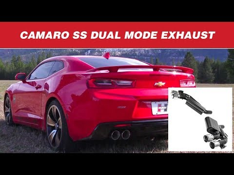 2016-19 Camaro SS - Hurst Elite Series Axle-back Exhaust System by Flowmaster