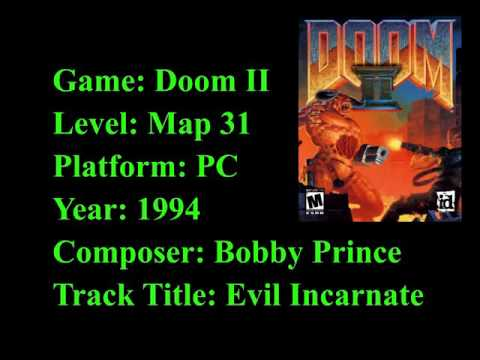 Doom II OST - Map 31 - Evil Incarnate - смотреть онлайн на