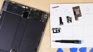 Apple iPad Pro 12.9 (2020) Teardown:  What does the LiDAR scanner look like?