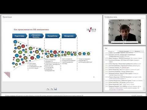 Динамическая модель развития HR (вебинар)