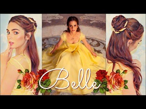 Emma Watson's Belle Makeup & Hair Tutorial💛 Beauty & The Beast