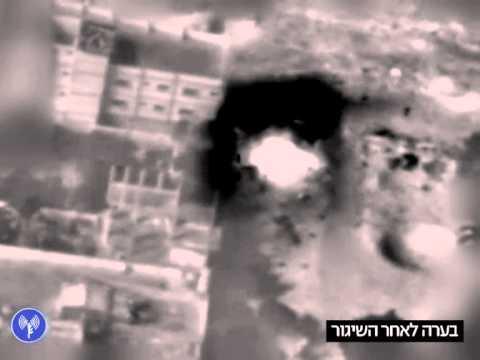 Les secondes explosions : preuve de la présence d'armes sur le site ciblé