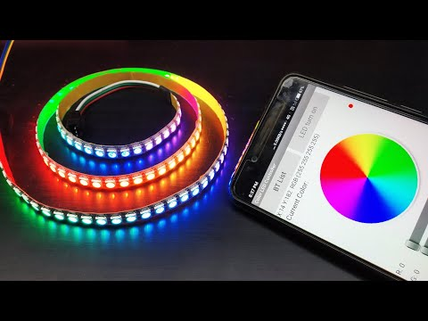 Improved DIY Music-reactive LED Strip - смотреть онлайн на Hah Life