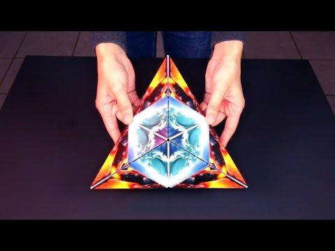 מדהים: קוביות קסם מקרטון שמשנות את צורתן