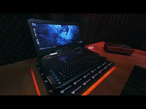 Первый в мире игровой ноутбук с изогнутым экраном — Acer Predator 21X