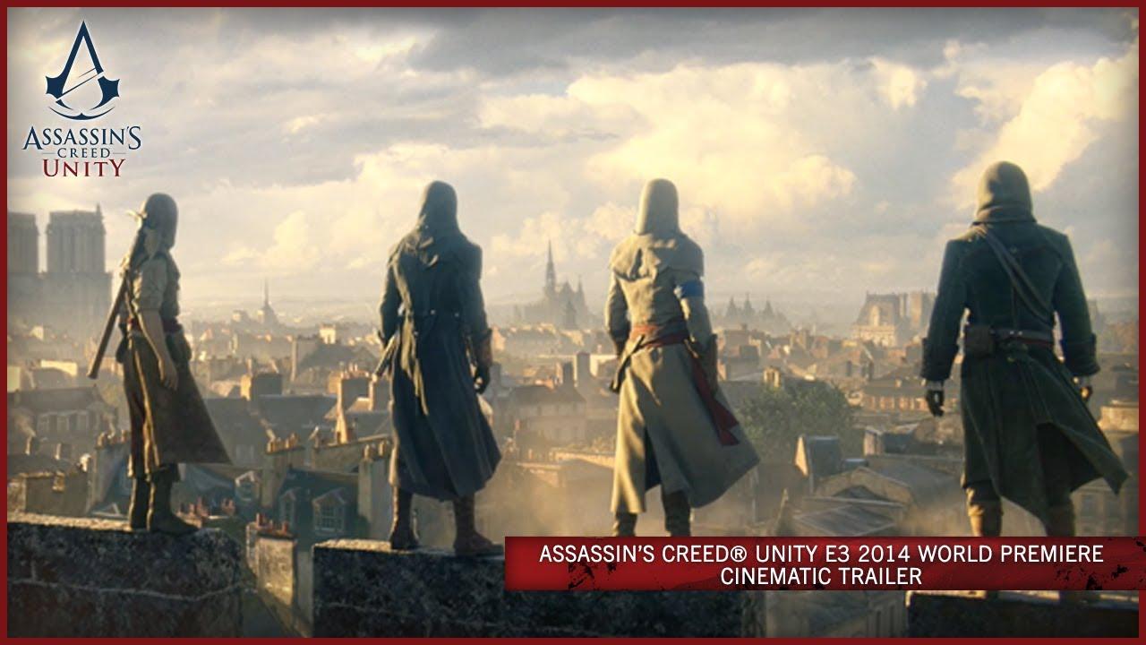 Assassin's Creed Unity E3 2014 World Premiere Cinematic
