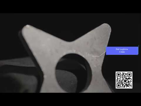 Weni Fiber Seria G - Cięcie metali | Weni Fiber G Series - cutting metal - zdjęcie