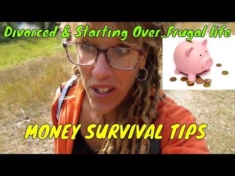 Divorced, Single Starting OVER MONEY SURVIVAL TIPS!