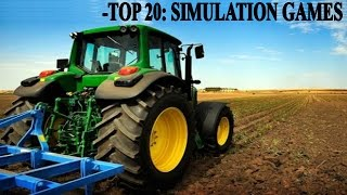 Top 20 Simulation Games PC