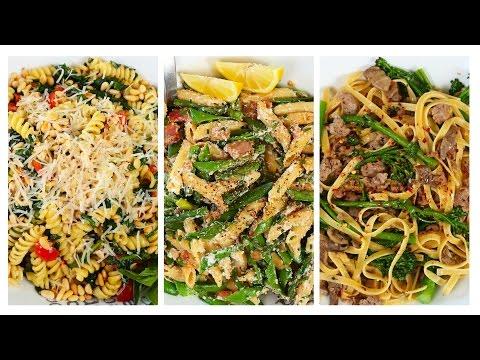 3 *NEW* Pasta Recipes | Spring Inspired Ideas