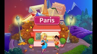 COOKING CRAZE Paris with Cheats Levels iOS / Android Gameplay | French Restaurant