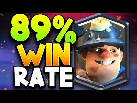 WORLD'S BEST WIN RATE - 89% - MINER CYCLE DECK