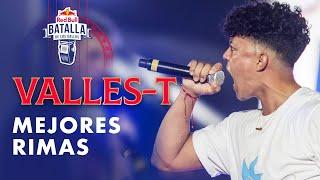 MEJORES RIMAS de VALLES T | Red Bull Internacional 2019