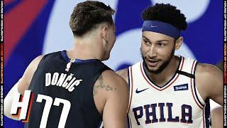 Dallas Mavericks Vs Philadelphia 76ers - Full Game Highlights | July 28, 2020 | 2019-20 NBA Season