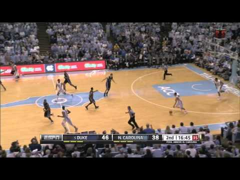 Video: UNC-Duke Game Highlights