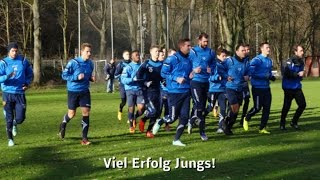 preview picture of video 'Das erste Training für die TuS Koblenz 2015 // Das ganze Video'