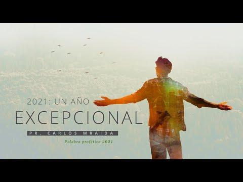 """UN AÑO EXEPCIONAL"""" PALABRA PROFÉTICA 2021"""