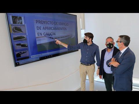 Presentación del proyecto de un edificio de aparcamientos en Gaucín