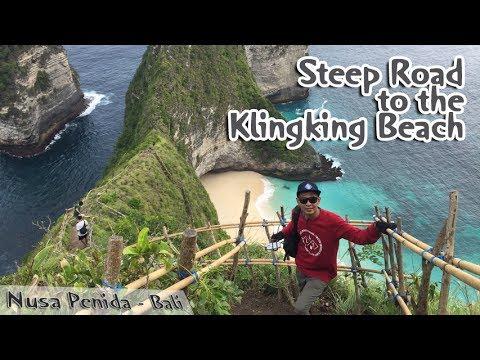 Video Jalan Terjal Menuju Pantai Kelingking Nusa Penida Bali