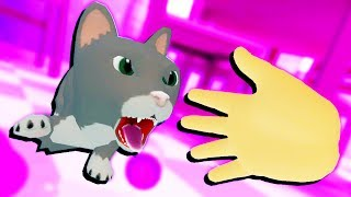 CAT ATTACKS BABY IN VR! - Baby Hands Gameplay - VR HTC Vive
