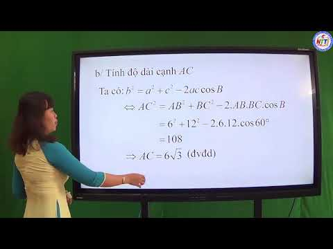 TOÁN 10 - Các hệ thức lượng trong tam giác và giải tam giác