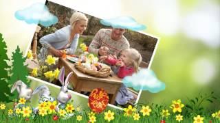 """""""Heppy Easter """" С ПАСХОЙ ! Детский проект для ProShow Producer"""