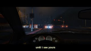 i listen to sad music while i drive on a rainy night in gta 5 (part 1)
